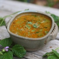 Moong Dāl Sambar with Green Beans