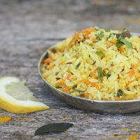 Lemon Rice (Chitraanna)