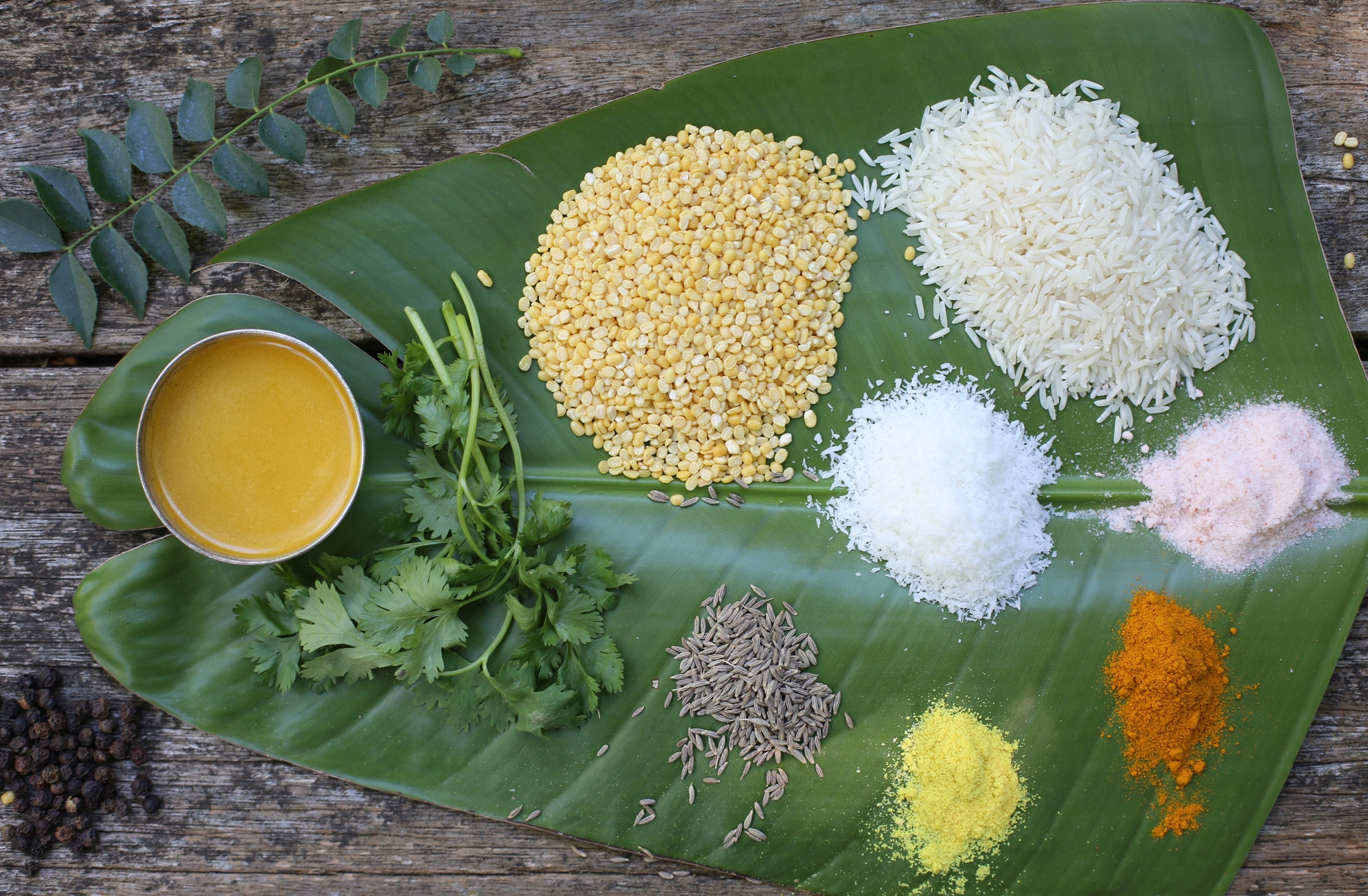 pongal ingredients
